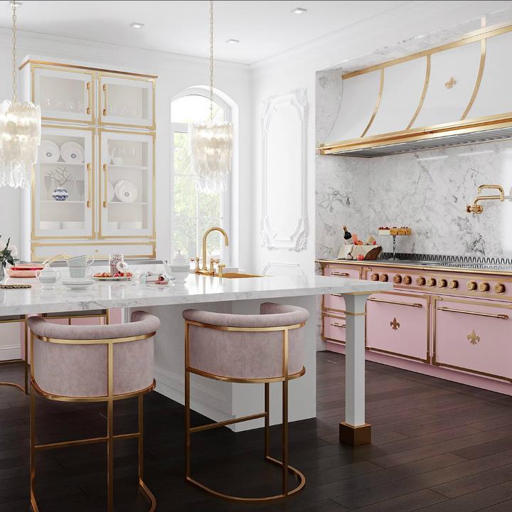 Parisian style kitchen design idea 2