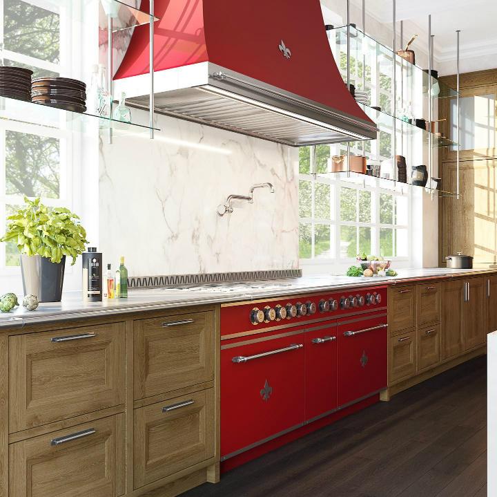 Parisian style kitchen design idea 12