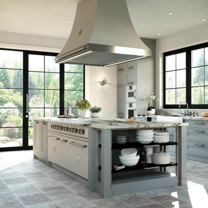 Parisian style kitchen design idea 15