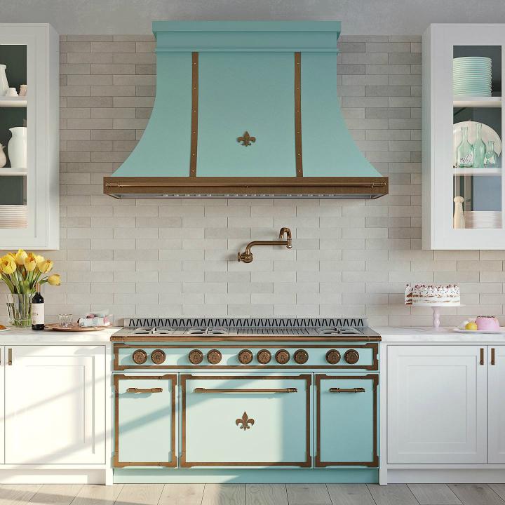 Parisian style kitchen design idea 3