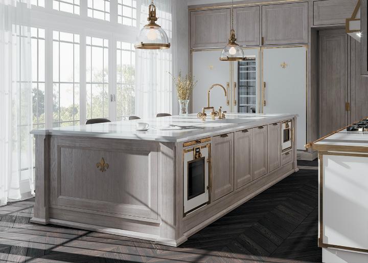 Parisian style kitchen design idea 4