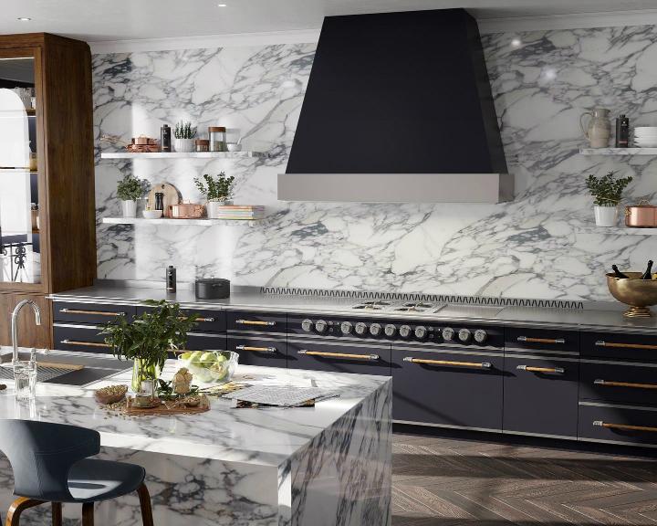 Parisian style kitchen design idea 5
