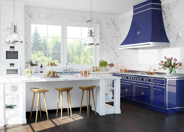 Parisian style kitchen design idea 7