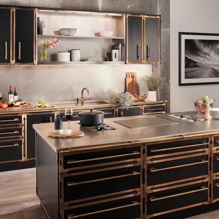 Parisian style kitchen design idea 8