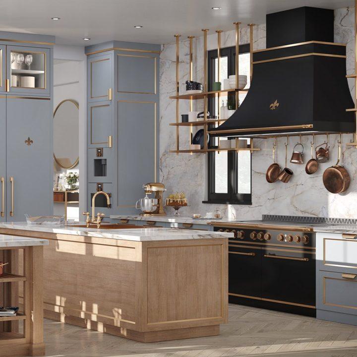 Parisian Style Kitchen Designs