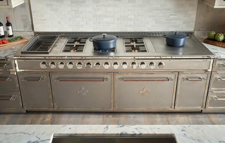 Parisian style kitchen design idea 10