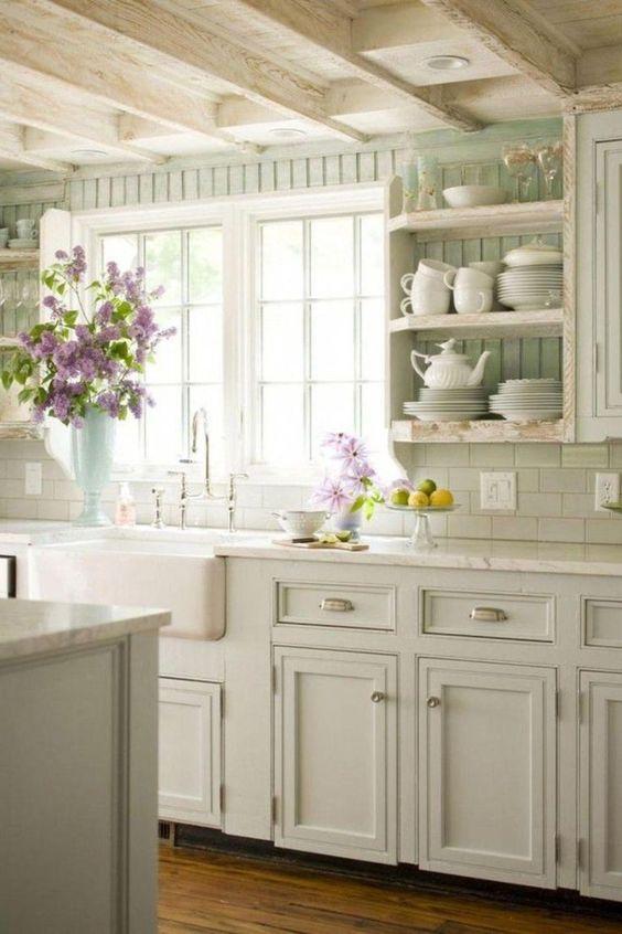 white country kitchen design idea