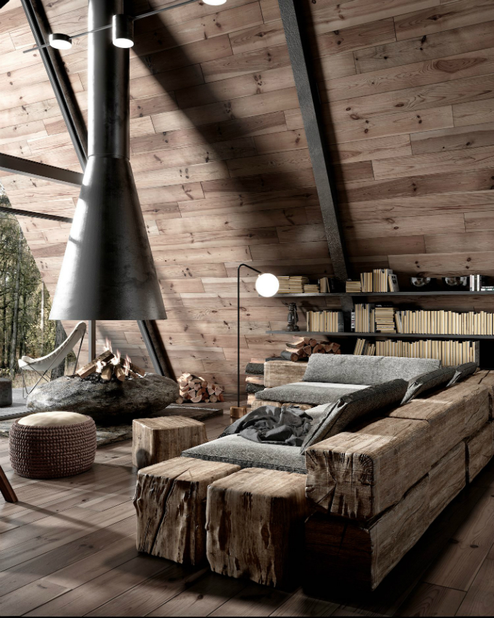 Dream Wood Cabin in the Middle of the Forest in Lake Tahoe California