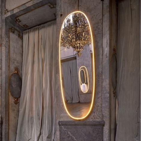La Plus Belle Mirror by Philippe Starck