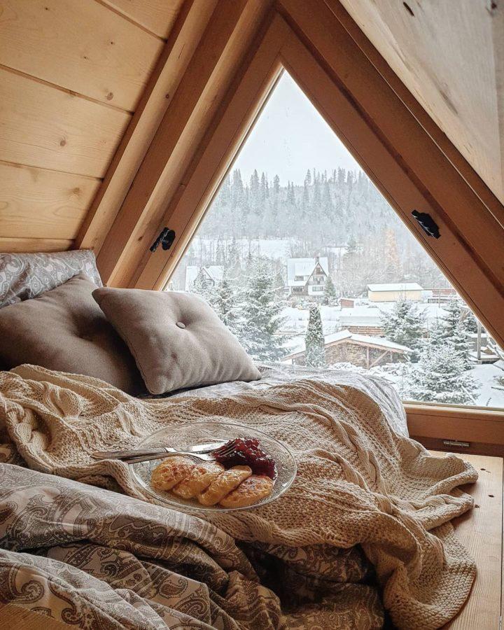 attic cozy reading nook floor cushion
