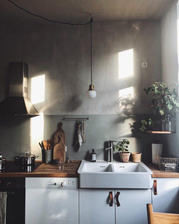 double white Fireclay Kitchen Sink