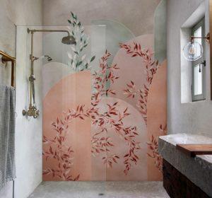 modern bathroom wallpaper