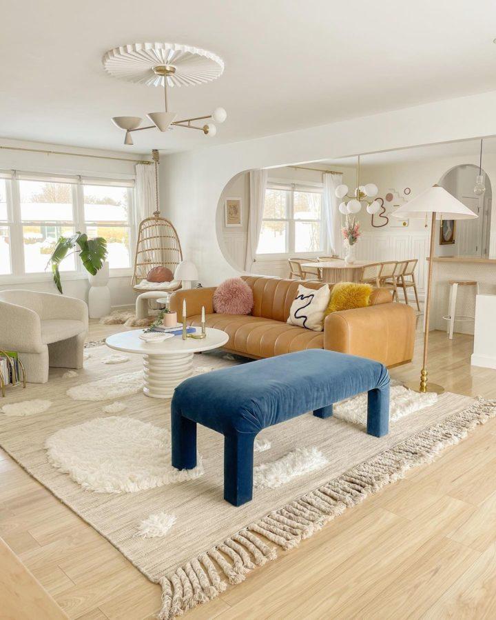 10 Ways to Create an Urban Boho Living Room