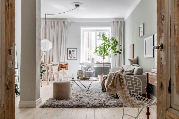 The Ultimate Cozy Scandinavian Apartment