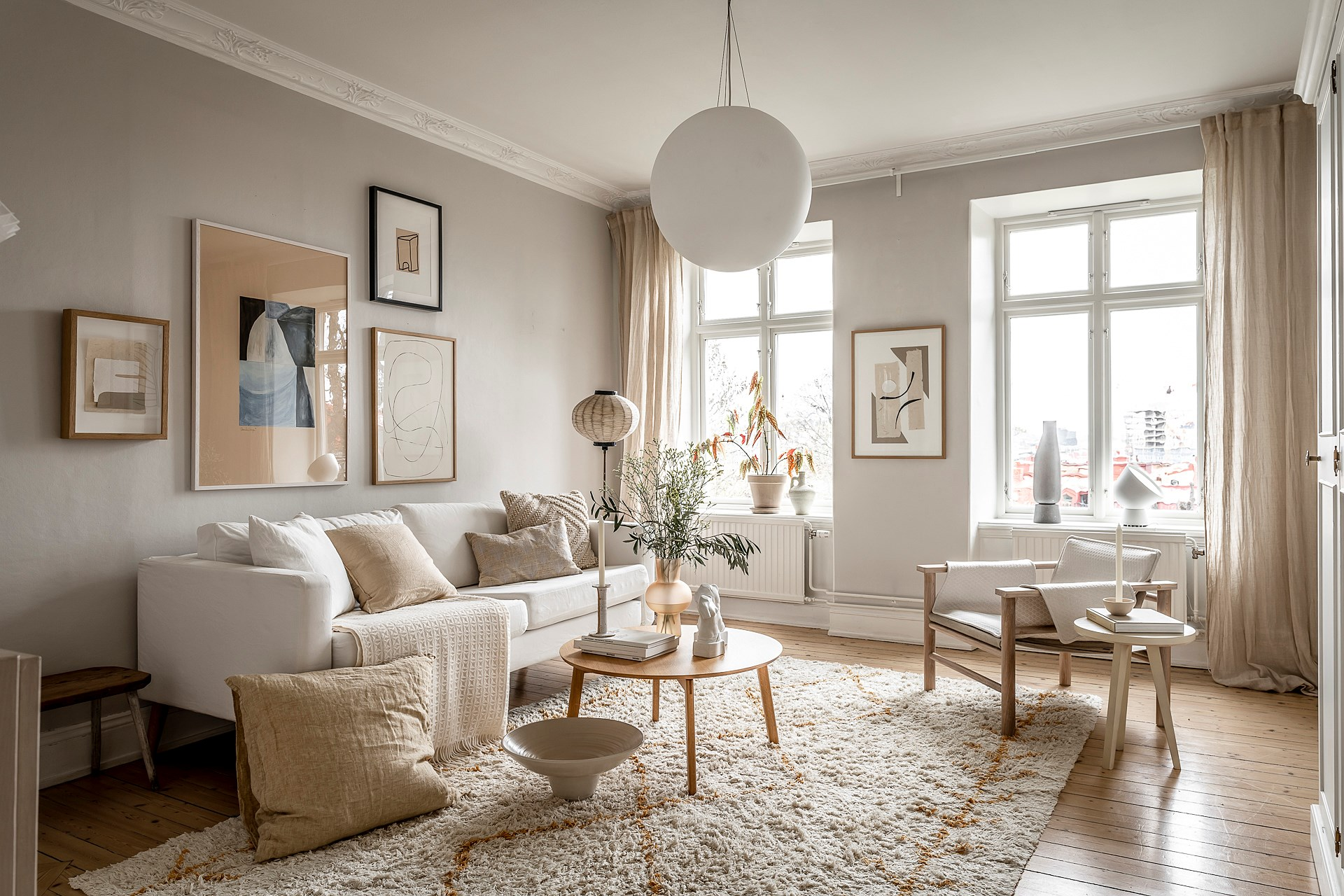 How To Decorate A Neutral Living Room, Neutral Living Room