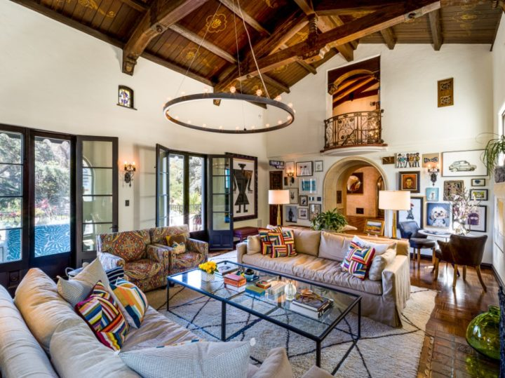 The Spanish Colonial-style Mansion That Leonardo DiCaprio Bought For His Mother