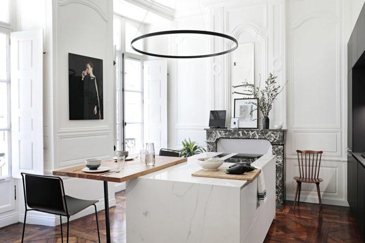 18th Century Minimalist French Apartment