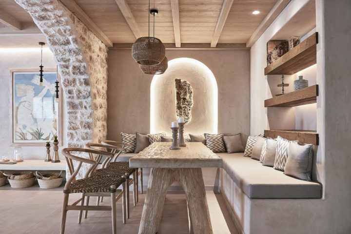 Pure and Bohemian Ambience In The Sand Villas