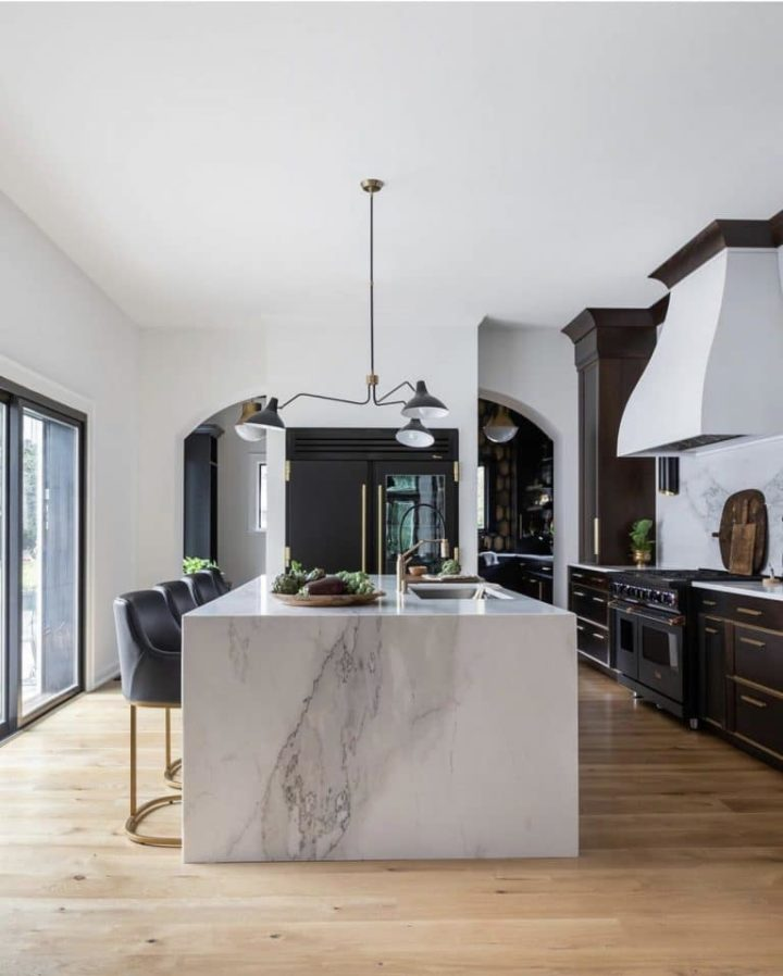 Modern Kitchen In A Charming Historical Home
