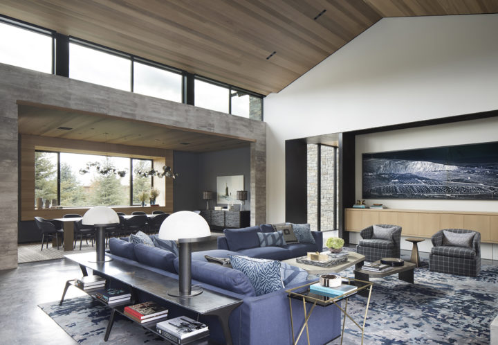 A Modern Vacation Home Surrounded by The Teton Mountain Range