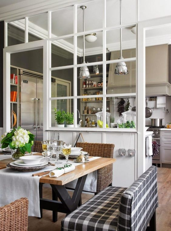 Best Glass Partition Wall For Kitchen Ideas