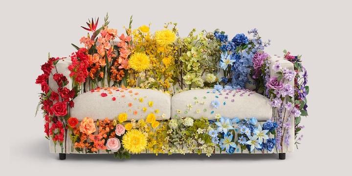 "Ikea Created ""Love Seats"" in Honor of Pride"
