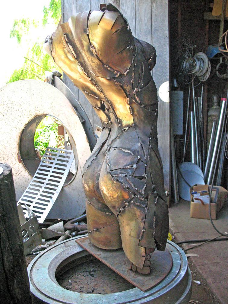 Bronze Figure metal sculptor