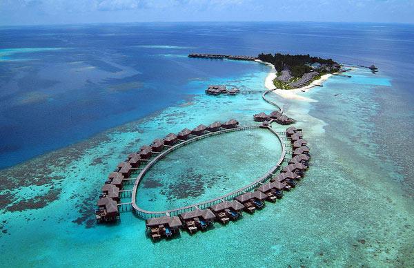 paradise hotel Coco Palm Bodu Hithi Maldives