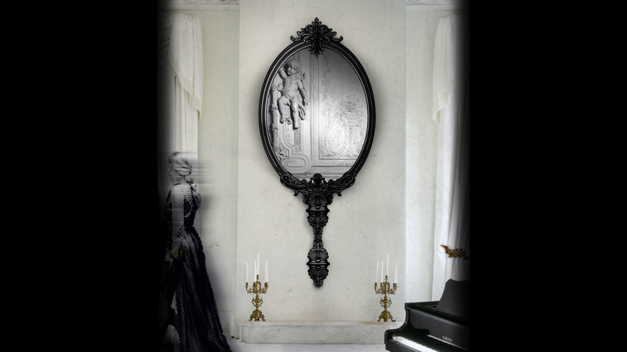 Marie Antoinette Mirror Boca Do Lobo Limited Edition