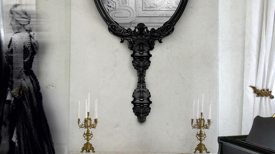 Marie Antoinette mirror Boca do Lobo 2