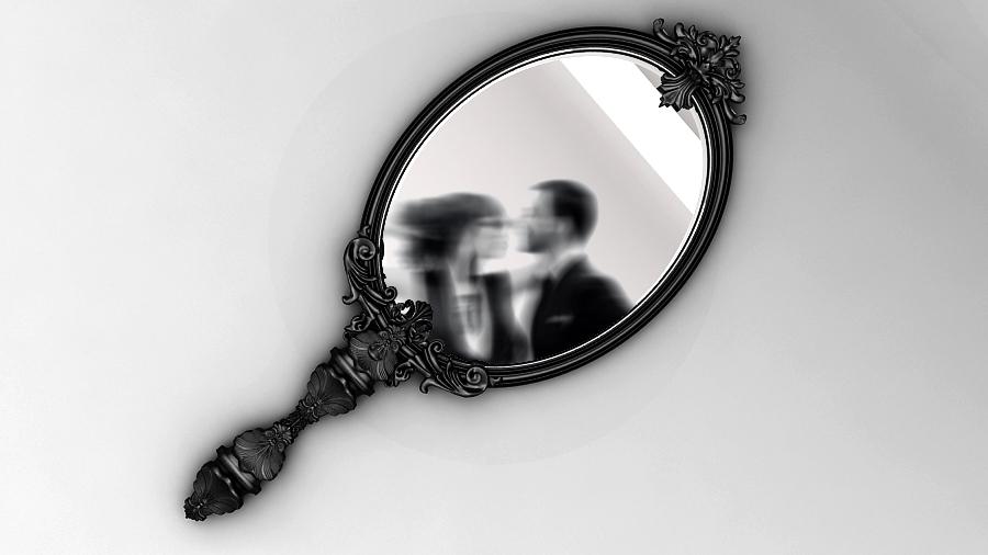 Marie Antoinette mirror Boca do Lobo 4