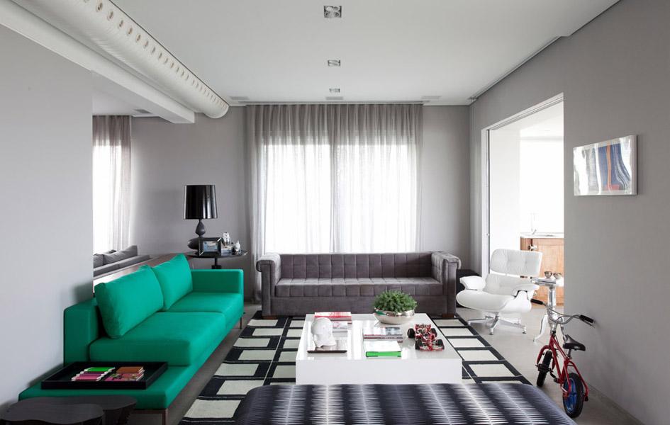 Modern House by Triplex Arquitetura interior design ideas 2