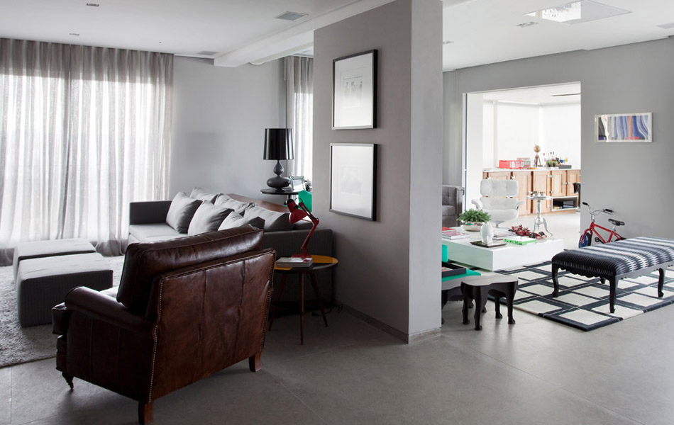 Modern House by Triplex Arquitetura interior design ideas 3