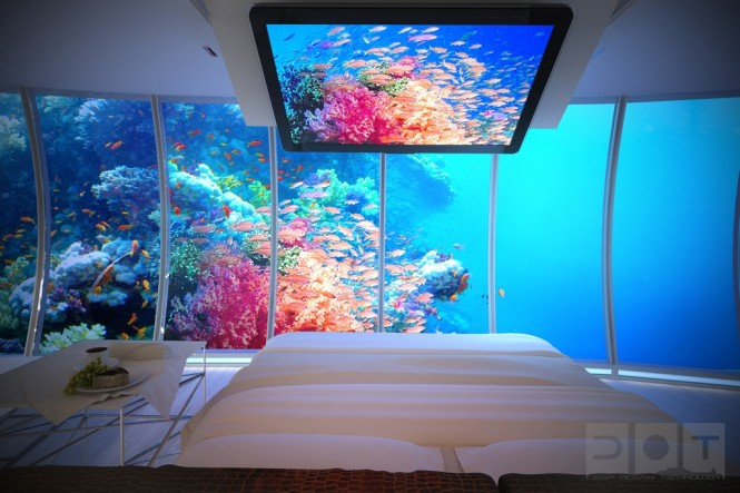 Awesome Underwater Hotel: The Water Discus