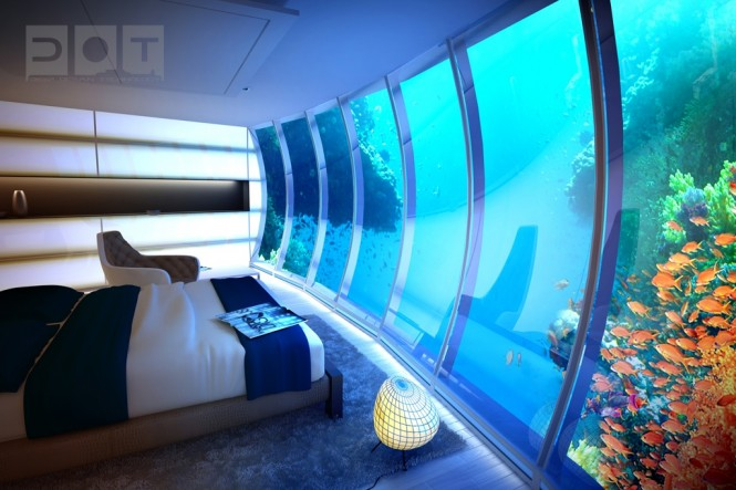 Awesome Underwater Hotel: The Water Discus 2