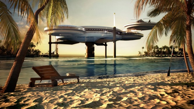 Awesome Underwater Hotel: The Water Discus 9