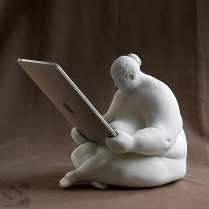 unique art iPad Docking Station 2