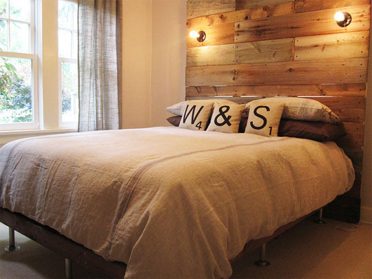 Cheap and DIY Headboards Ideas - Decoholic