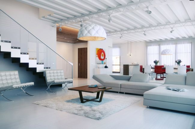 colorful loft 4 interior design ideas