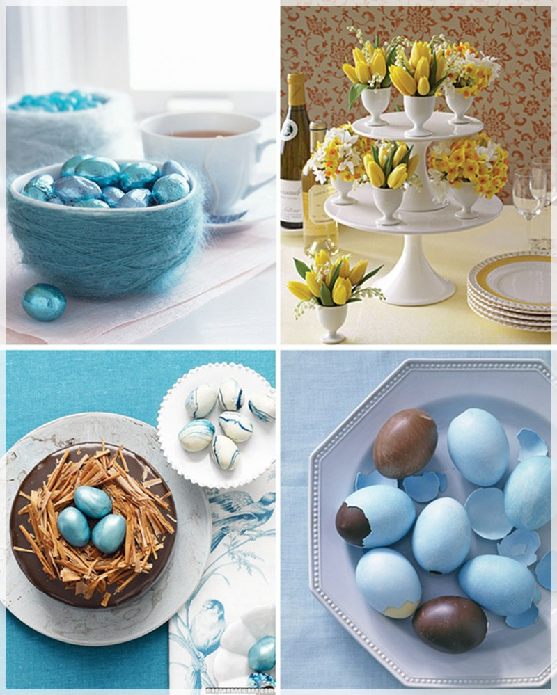 Creative easter decorating ideas decoholic for Easter home decorations