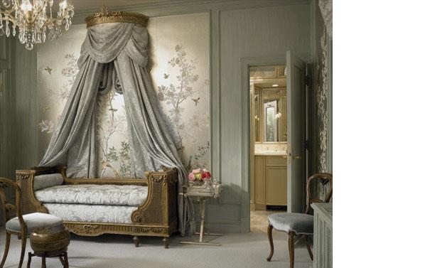 elegant guest room