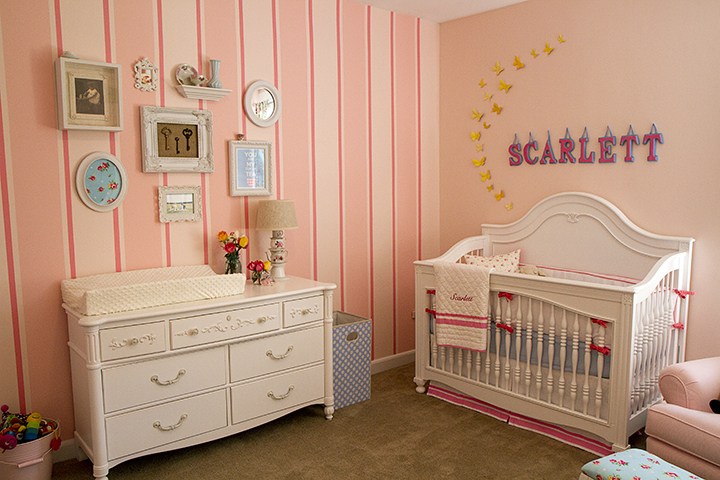 girls nursery rooms ideas