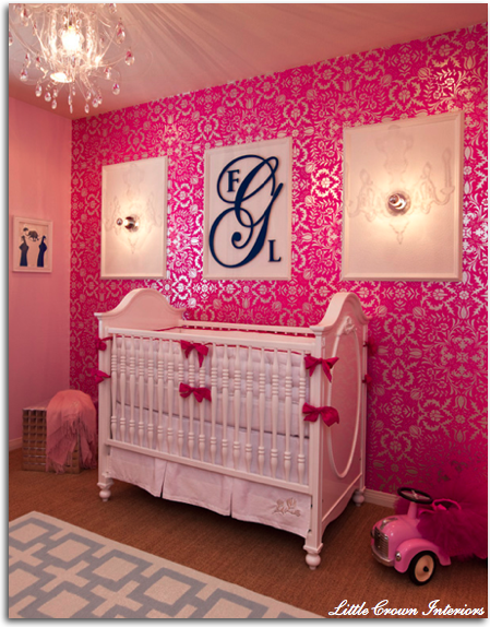 girls nursery rooms 2 ideas
