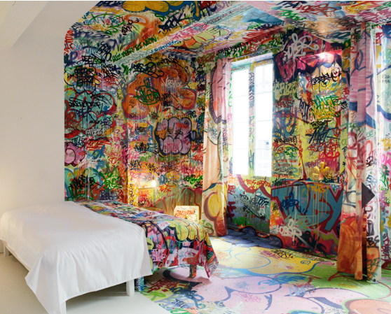 graffity panic room interior design