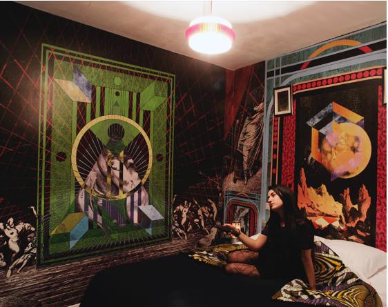 Hotel Au Vieux Panier  room interior design 5