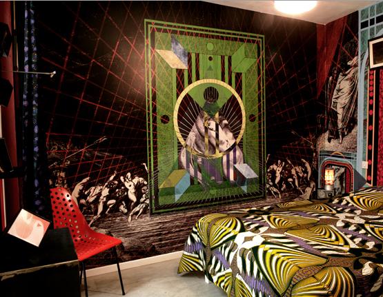 Hotel Au Vieux Panier  room interior design 6