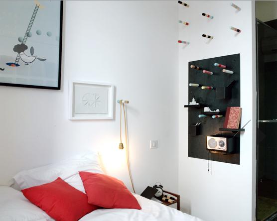 Hotel Au Vieux Panier  room interior design 8