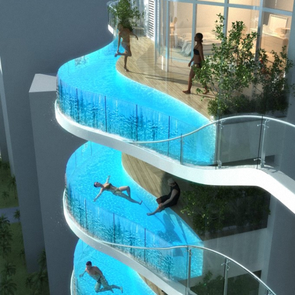 Balcony Pools by James Law 1