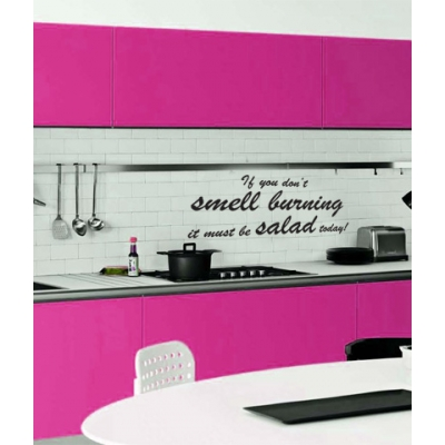 Funny and creative quotes decals for every room decoholic - Funny kitchen wall decals ...