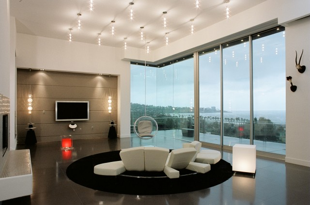 Modern luxury living rooms ideas decoholic for Modern lights for living room